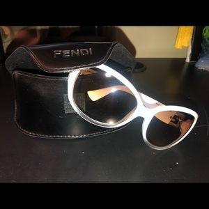 Fendi Sunglasses (White)